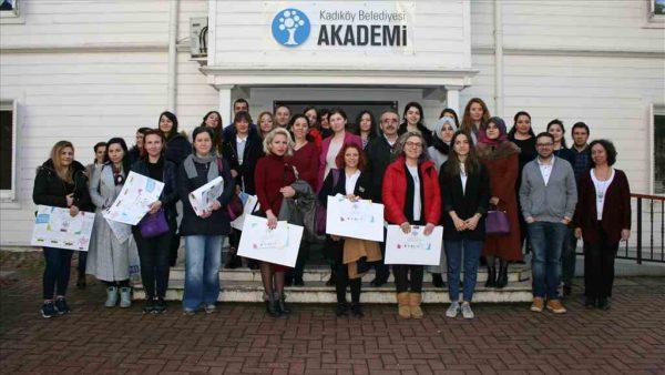 Kadıköy'de anaokulu öğretmenlerine çevre eğitimi
