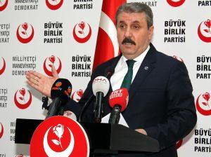 Mustafa Destici'den MHP'li Kalaycı'ya cevap