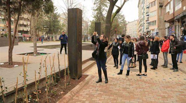 Öğrenciler Odunpazarı Belediyesi'nin ödüllü projesini inceledi