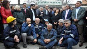 Ankara'da şeker fabrikalarının özelleştirilmesine tepki