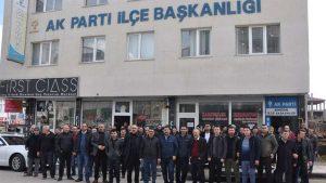 İşçiler AKP'nin kapısına dayandı!