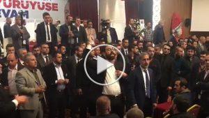"""AKP Adana Yüreğir Kongresi'ne """"FETÖ'cü başkan istemiyoruz"""" sloganları damga vurdu!"""