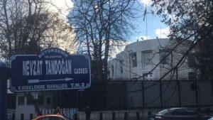 ABD Büyükelçiliği'nin bulunduğu caddenin adı resmen Zeytin Dalı oldu