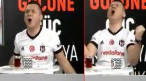BJK TV spikerini çıldırtan gol
