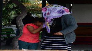 10 yaşındaki kıza taciz iddiasında, linçten polis kurtardı