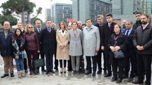 CHP'liler Enis Berberoğlu için buluştu