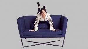 Gupse Özay ''Bi değişik mobilya''yı tanıttı