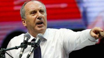 CHP'li İnce'den sert çıkış: Nankör mirasyediler