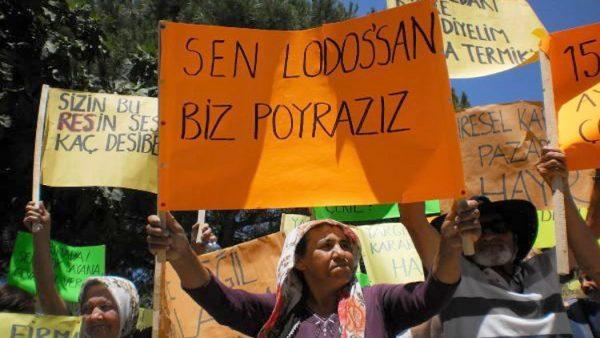 Halk isyanda: Karaburun'da yaşam alanı kalmadı