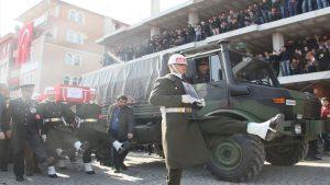 Tüm Türkiye'nin gözleri yaşlı… Afrin şehitlerine veda