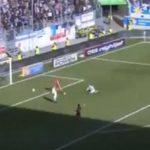 İnanılmaz an! Duisburg kalecisi su içerken gol yedi
