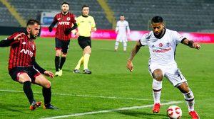 Kartal turladı! Ziraat Türkiye Kupası   Gençlerbirliği Beşiktaş: 0-1