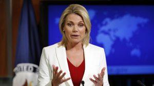 Nauert: 'Elçilik Sokağına İstenilen Ad Verilebilir'