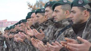 Özel harekat polisleri dualarla uğurlandı