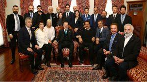Sanatçılar, Erdoğan'ın doğum gününü kutladı