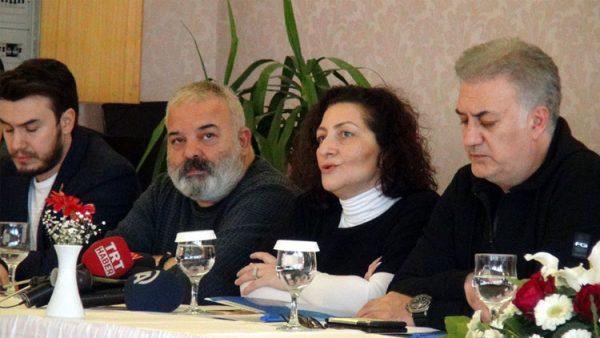 Sanatçılar, 'Zeytin Dalı Harekatı'na destek için Hatay'da