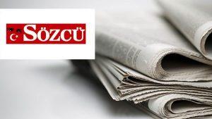 Sözcü Gazetesi'nden üst düzey ayrılık