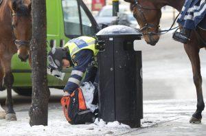 Stockholm'de şüpheli paket alarmı!