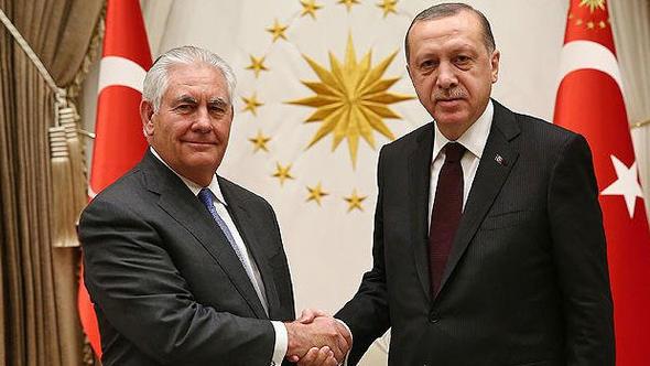 Erdoğan-Tillerson görüşmesi 3 saat 15 dakika sürdü!