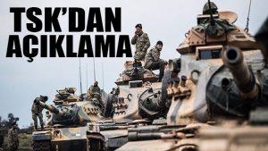 Zeytin Dalı Harekatı'nda 29. gün! TSK'dan açıklama: 1595 terörist öldürüldü