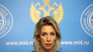 """Zaharova: """"ABD, YPG'ye silah sevk etmeyi sürdürüyor"""""""