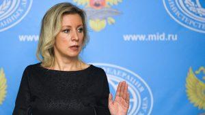 """Zaharova: """"Astana'da hükümet ve muhalifler yok"""""""