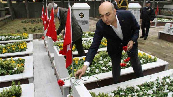 Şehitlerimiz Bakırköy'de de anıldı