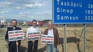 CHP, İYİ Parti ve Saadet Partisi'nden ortak yürüyüş