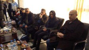 Acılı aileler İran'a gitti. Kahreden bekleyiş