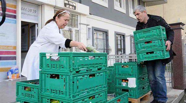 Gıda Bankası 'fazla gıdayı' ihtiyaç sahiplerine ulaştırıyor