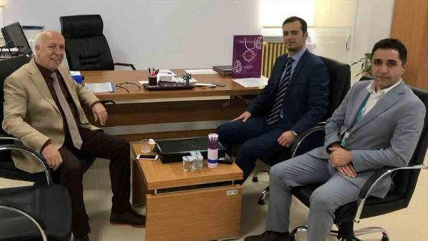 Başkan Uyan'dan Başhekim Dr. Özdemir'e hayırlı olsun ziyareti
