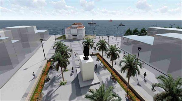 Mudanya Mütareke Meydanı yenileniyor