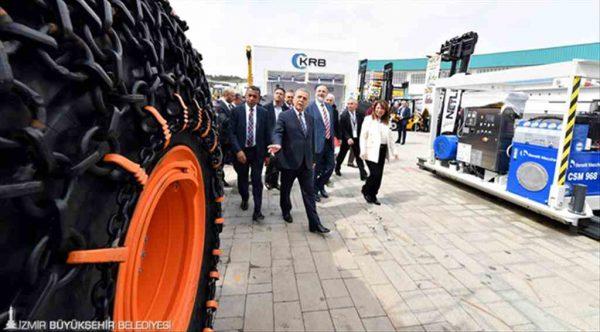 Dünyanın gözü İzmir'deki Uluslararası Doğaltaş ve Teknolojileri Fuarı'nda