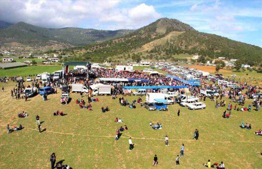 3. Çağla Festivali ve Kültür Şenlikleri gerçekleştirildi