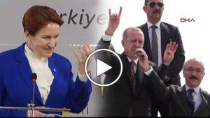 Halk TV daha önce gündeme getirmişti: Mersin'de konuşan Erdoğan Bozkurt işareti yaptı
