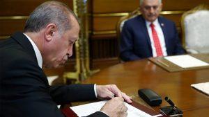 Erdoğan, ittifak ve seçim güvenliği yasasını onayladı!