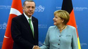 Cumhurbaşkanı Erdoğan, Almanya Başbakanı Merkel ile görüştü… İşte ele alınan konular
