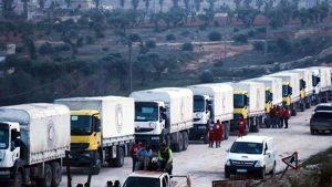 Afrin'e insani yardım götürmek için Hatay'a yeni gümrük kapısı açılacak