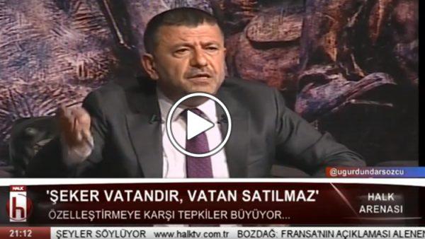 Veli Ağbaba: Şeker Fabrikaları Anadolu'nun Kurtuluş Savaşı sonrasında dünyaya meydan okumasıdır