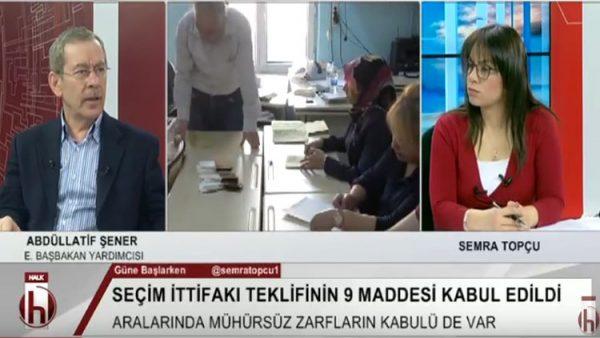 Abdüllatif Şener: İktidar 3 seçimi de kaybedecek