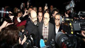 Ahmet Şık ve Murat Sabuncu cezaevinden çıktı