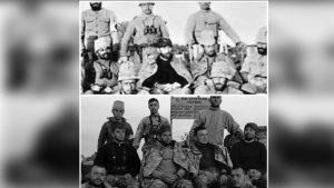 Afrin'deki askerlerimizden Mustafa Kemal pozu