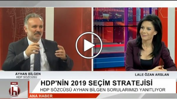Ayhan Bilgen HDP'nin 2019 stratejisini anlattı