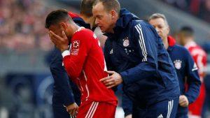 Bayern Münih'i yıkan sakatlık