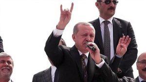 Erdoğan bozkurt işareti ile ilgili ilk kez konuştu