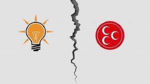 AKP-MHP ittifakında ilk kriz