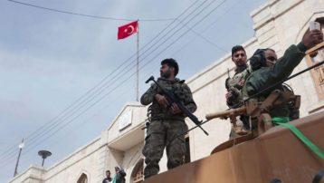Afrin'den ilk görüntüler… Dünya böyle gördü