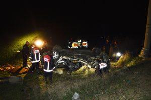 Kazada aynı aileden 3 kişi öldü, 2 kişi yaralandı