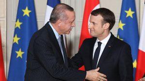 Erdoğan, Macron görüşmesini anlattı: Baktım garip garip şeyler söylüyor