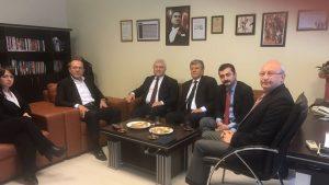 CHP Medya Komisyonu Halk TV'yi ziyaret etti
